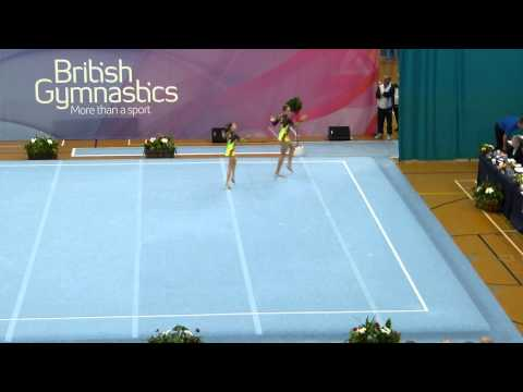 Richmond Acro 11-16 WP British Champs 2013 Gold Dynamic