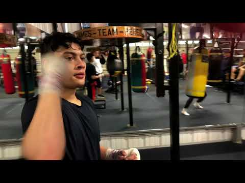 Boxing Stars Lindolfo Delgado And Hector Tanajara in Training Camp ( beast mode )