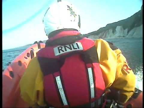 Weymouth RNLI save Kayaker being blown offshore