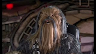 Chewbacca interview on Marfan syndrome (and Solo)