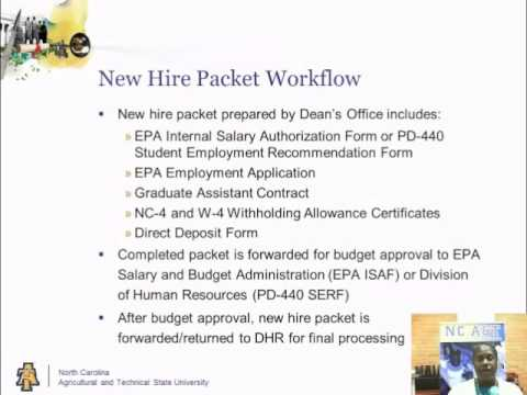 GA Training: New Hire Packet - YouTube