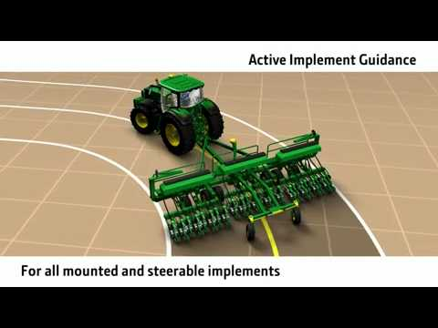 John Deere FarmSight - Active Implement Guidance