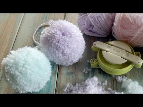 The Secret to a Fluffy Pom Pom - Clover Pom Pom Maker