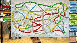 Gamerview - Ticket To Ride (PS4) - Gameplay