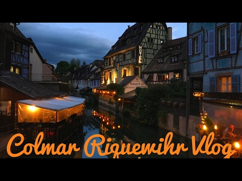 Trip to Riquewihr and Colmar, France-Alsace Wine Route-Petite Venice