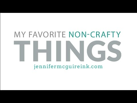 My Favorite Non-Crafty Things (+ Pom Pom Makers)