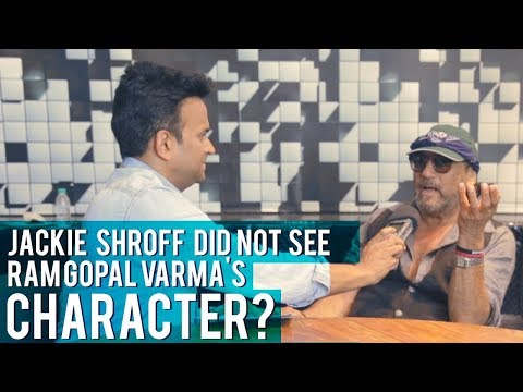"Jackie Shroff : ""Maa Ki Aankh, I did not see Ram Gopal Varma's Character!"""