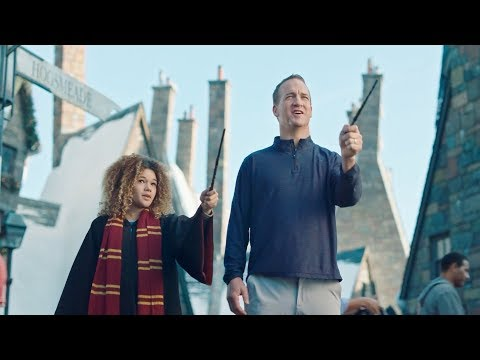 FULL VERSION - Peyton Manning - Universal Studios Vacation Quarterback - Super Bowl (2018)