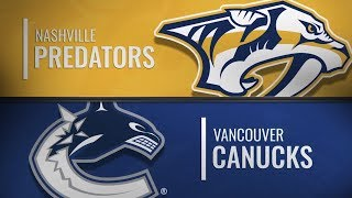 Nashville Predators vs Vancouver Canucks | Dec.06, 2018 NHL | Game Highlights | Обзор матча