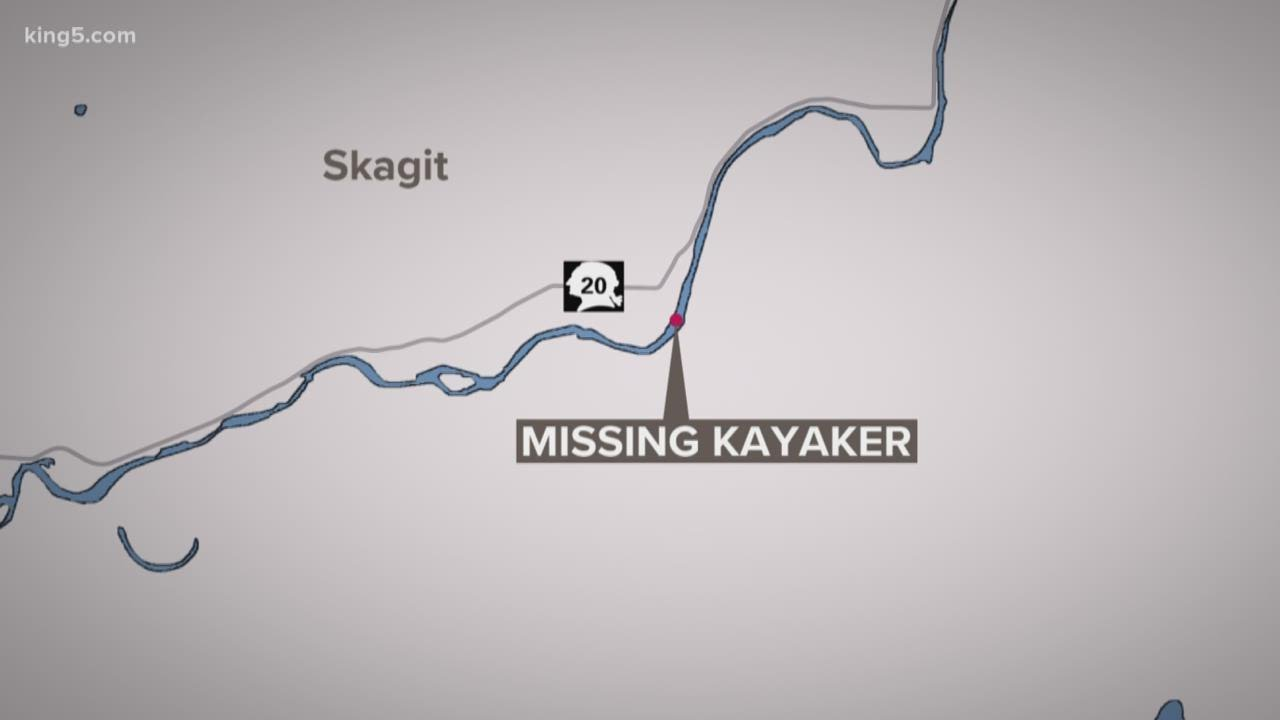 Boy disappears while kayaking on Skagit River