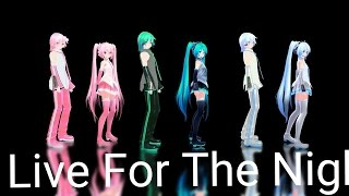 MMD Live For The Night