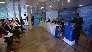 Reception at UNESCO Headquarters in Paris, France