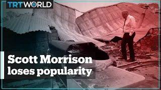 Australian PM Scott Morrison's popularity plunges amid bushfires