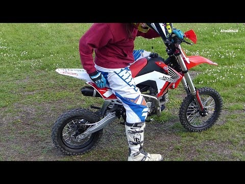 BSE 160 PitBike Testing and New Look / Graphics