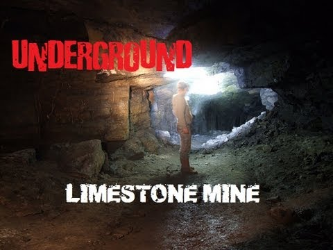 Abandoned Limestone Mine/Quarry - Bathgate Hills, Scotland
