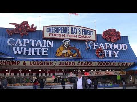 Maine Ave Fish Market Washington DC -  Episode 126