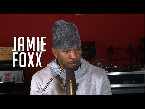 Jamie Foxx Talks About His Stage Name + Prepping To Play Iconic Mike Tyson