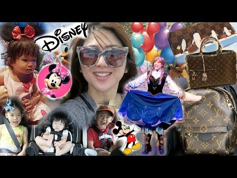 COME TO DISNEY WITH US & MEET MY SIS! MY BIRTHDAY 🎉 LOUIS VUITTON ❤️