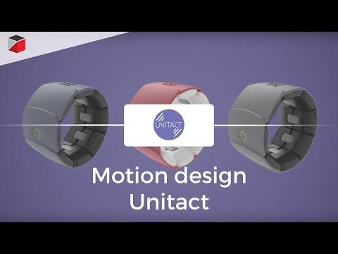 Motion design Unitact - Société Novitact
