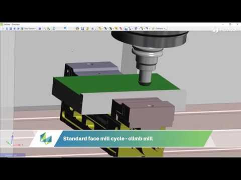 Overlap Edge Face Mill Cycle Enhancements | EDGECAM 2021.0