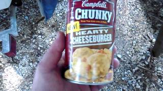 Campbell's Chunky Hearty Cheeseburger Soup