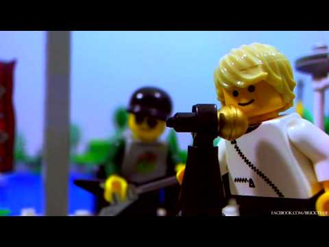 Coldplay - The Hardest Part (LEGO Remake)