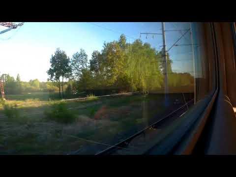 Владимир-Москва (Курский вокзал) из окна поезда№041Г Нижний Новгород-Великий Новгород 11.05.2019