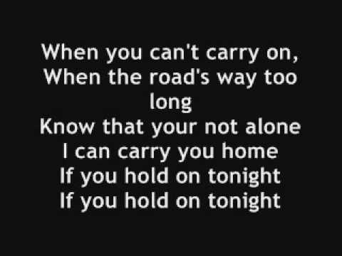 Faber Drive - Ill Be There Lyrics