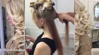 Beautiful Wedding Hair Transformations by ELSTILE