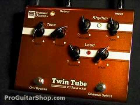 Seymour Duncan Twin Tube Classic Preamp / Distortion Pedal