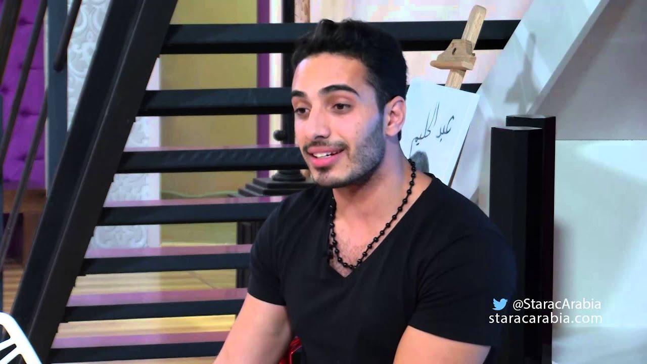 ليث أبو جودة في جلسة السوشيال ميديا 21/10/14 - ستار اكاديمي 10