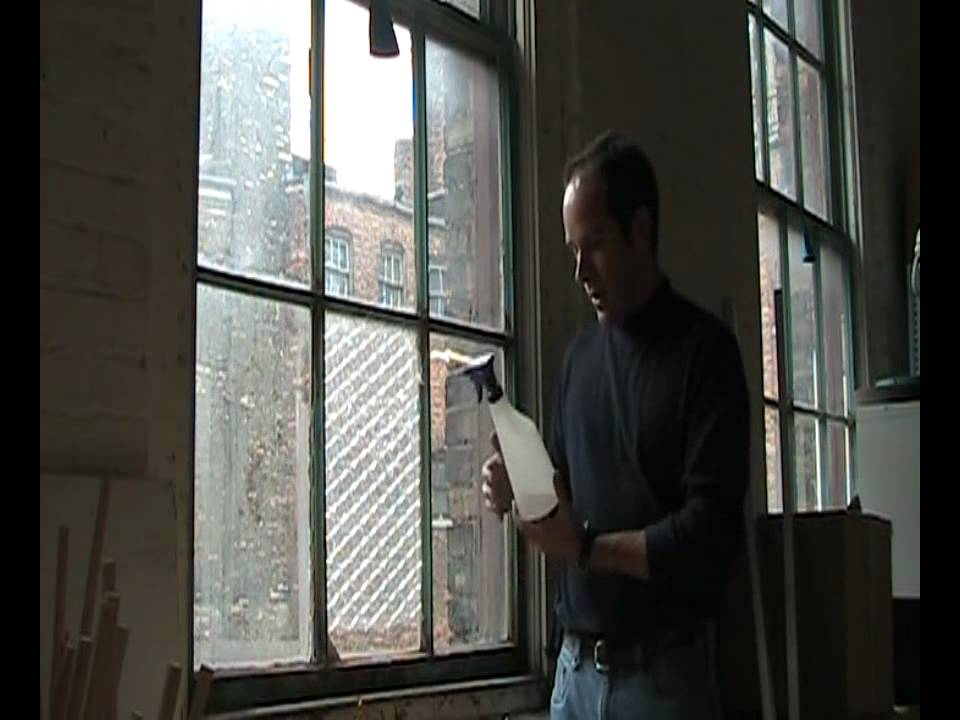 How To Insulate Windows Bubble Wrap Window Insulation - Youtube