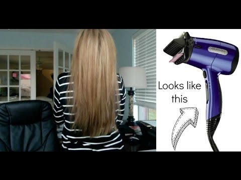 how to open a infiniti pro conair hair dryer