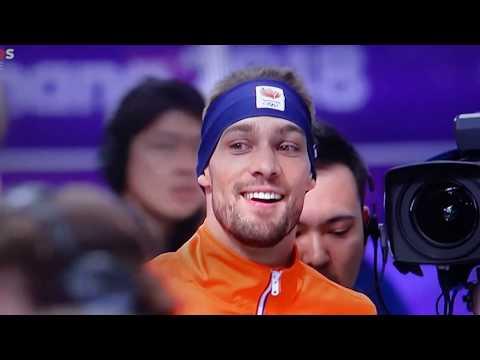 Kjeld Nuis/ Goud 1500 meter Gold/ OS 2018/ Ontlading /Joy Discharge/13 February 13th
