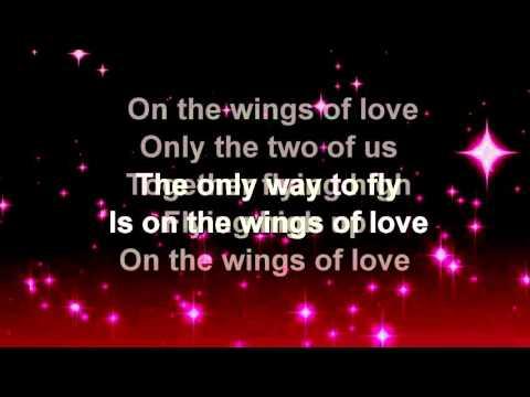 On The Wings Of Love + Jeffrey Osborne + Lyrics / HD