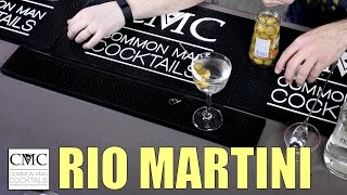 Rio Martini, Cocktail Budget Week