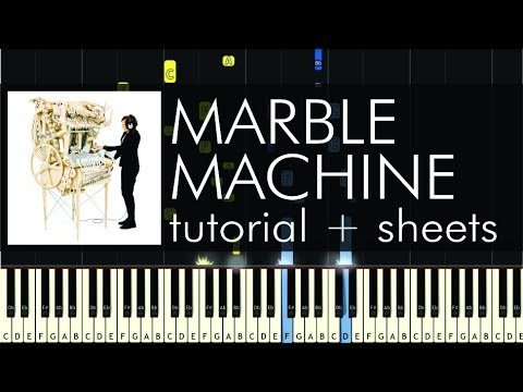 marble machine sheet