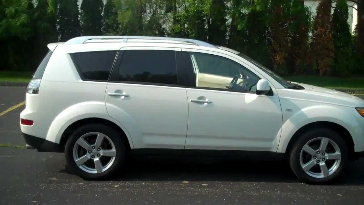 2007 mitsubishi outlander at lochmandy motors youtube. Black Bedroom Furniture Sets. Home Design Ideas