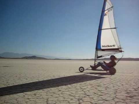 Manta Landsailing - El Mirage California