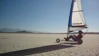 Manta Landsailing - El Mirage California