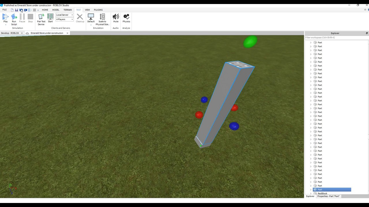 Roblox How To Make A Revolving Door With New Hinge