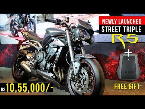Triumph Street Triple RS Launch + Free Giveaway!!
