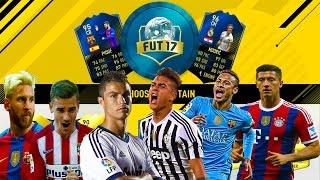 FIFA 17 FUT DRAFT - SuperStarurile Lovesc Din Nou ... IN BARA !!!