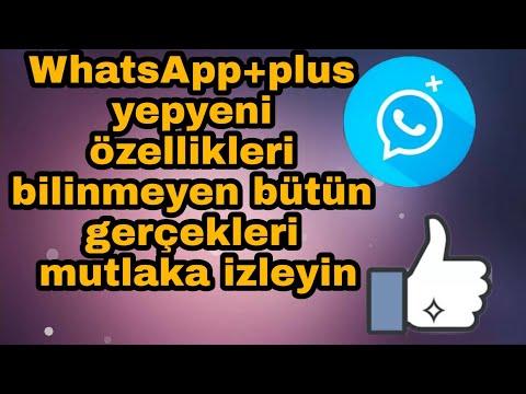 WhatsApp+plus En Yeni Muhteşem özellikleri