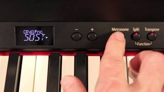 Roland Digital Piano — Pedal Functions on RP-301R