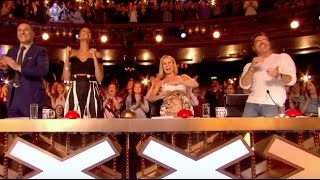 Simon Pushes Golden Buzzer For The Most Difficult Song In Th...