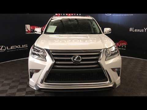 White 2018 Lexus GX Executive Pacage Review Edmonton Alberta - Lexus of Edmonton
