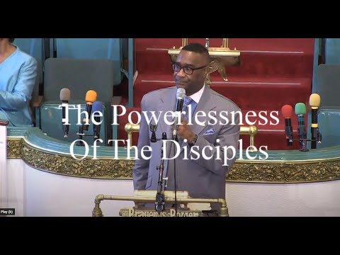 greater st. john missionary baptist church oakland hd, the powerlessness of the disciples
