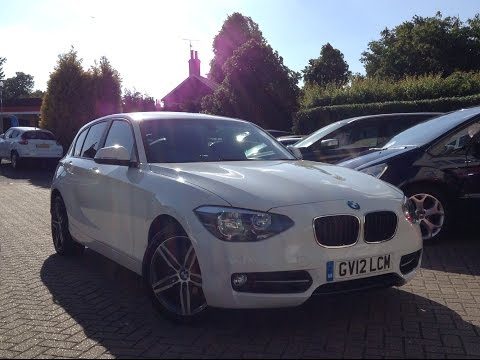 BMW 1 Series 1.6 116i Sport Sports Hatch 5dr for Sale at CMC-Cars, Near Brighton, Sussex