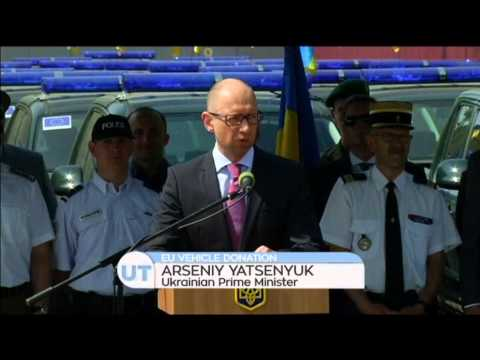 EU Donates Vehicles to Ukraine: Trucks and vans worth more than USD 8 mln sent to border